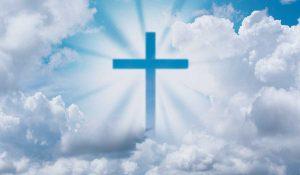Banner met kruis